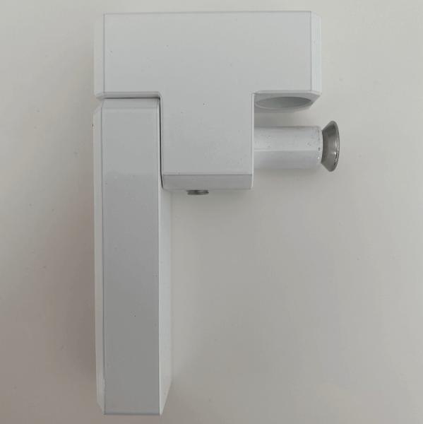 Fenster- und Türsicherung, Sockelhöhe 20 mm, Riegellänge 70 mm