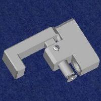 Sicherung für Hebe-Schiebetüre - Lieferbar auf Anfrage